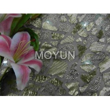 """POLY MESH WITH 3MM SEQUIN EMBD 50/52"""""""