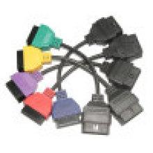 для FIAT сканирования ЭБУ адаптера БД диагностический кабель пяти цветов