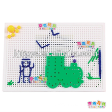 hotsale creative Preschool Educational Children Threading Puzzle building Block