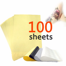 100 feuilles Tatouage Carbon Thermal Stencil Transfert papier 8.5x11 Master Units