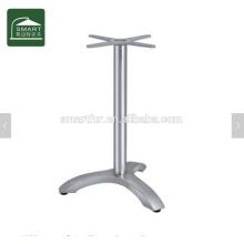 Современная алюминиевая подставка для журнального столика с тремя ножками
