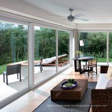 Ventana fija de aluminio con vidrio templado doble estándar de Feelingtop