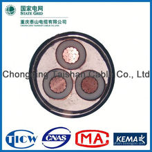 Factory Wholesale 15kv 3x240mm fire resistant screen cable