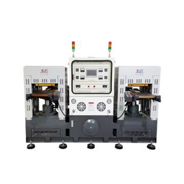 double heads injection silicone molding process equipement