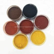 Óxido de hierro rojo 120 para fertilizante químico
