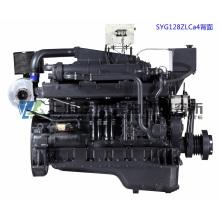 Главный двигатель. Судовой дизельный двигатель G128. Шанхайский дизельный двигатель Dongfeng. 308 кВт, 1500 об / мин