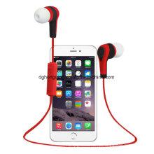 Sport Wireless Stereo Bluetooth Earphone com microfone para iPhone