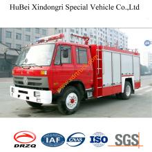 5ton Dongfeng 153 Camión de bomberos en polvo seco Euro3
