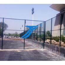 Cerca de esportes / malha de diamante / PVC revestido cerca de elo da cadeia