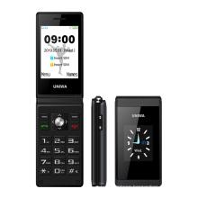 Wholesale UNIWA X28 Clam shell Design Flip Dual Sim Mobile Phone