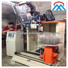 industria máquina de fabricación de cepillo de plato redondo