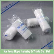 Elástico PBT que confirma el vendaje de gasa