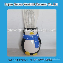 Kitchen accessory ceramic utensil holder