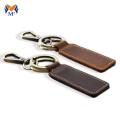 Porte-clés en cuir personnalisé avec motifs de nom