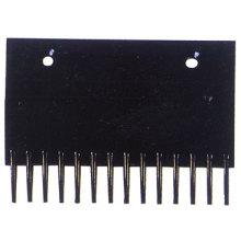 Peigne noir plaque, Escalator composants / pièces