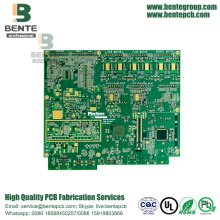BGA 6 Lagen PCB FR4 High-precision Multilayer PCB ENIG 3u ""