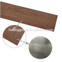 Tablones antideslizantes del suelo del pvc del grano de madera de la mejor calidad