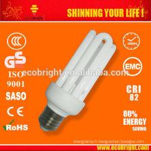 T3 4U 20W lampe 10000H CE qualité d'éconergétiques