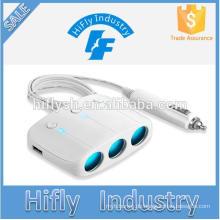 LY-0612 Trending heiße Produkte 3 Welly und 2 USB-Buchse Auto Zigarettenanzünder (CE zertifiziert)