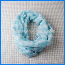 Wholesale women printing loop scarf