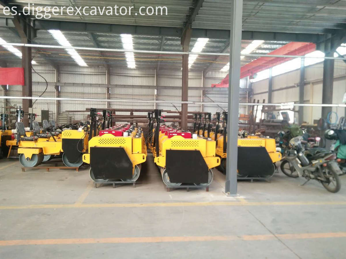 New Manual Vibration Road Roller