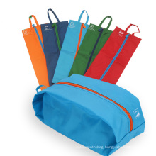 Wholesale polyester shoe travel bag with logo