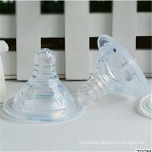 Medical Grade Transparent Liquid Silicone Baby Nipple