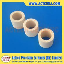 Precision Al2O3/alumine céramique manche/bague d'usinage