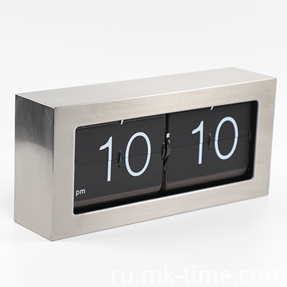 Big Metal Flip Clock