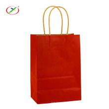 Shopping Bolsa de papel Kraft con asa