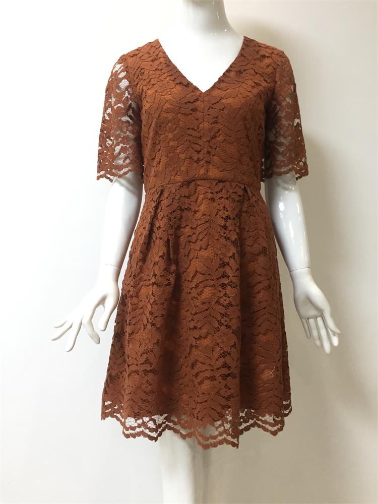 New Fashion Dress with Lace
