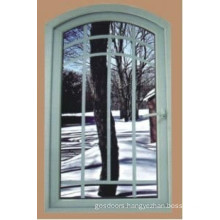New Design Outward Casement Window with Grills (WX-W202)