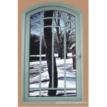 Nueva ventanilla de ventana de diseño exterior con parrillas (WX-W202)