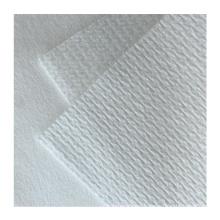 40GSM spunlace white color non woven fabric plain polyester spunlace nonwoven fabric