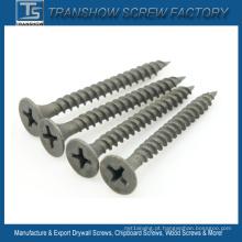 Parafusos de Drywall Phosphated cinzentos