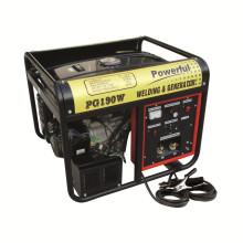 Portable Silent 50 - 180A Soudeur à arc AC Générateurs / Machine à souder diesel Tgw6500s