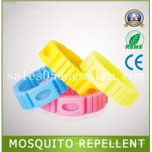 Москитная Репеллента браслет с использованием натурального масла refill, Модный, бесплатный насекомое