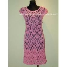 Sexy and Beautiful Hand Knit Crochet Ladies Wedding Dress