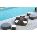 l Type Modern Rattan Leisure Sofa Set Designs