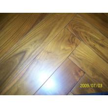 Herrinbone Parquet Chinese Teak (Robinie) Wood Flooring Suppiler