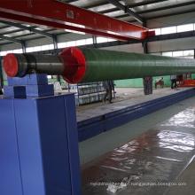 Máquina de enrolamento da tubulação da drenagem das águas residuais de FRP / máquina para as tubulações de fabricação de GRP