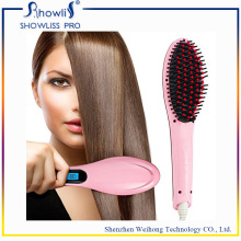 Grossiste OEM Professional Hair Brush Straightener