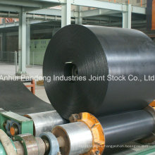 Banda transportadora de PVC / banda transportadora de goma para la manipulación de materiales a granel
