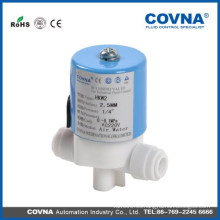 Micro RO sistema válvula solenoide agua aire agua caliente POM válvula solenoide 220V