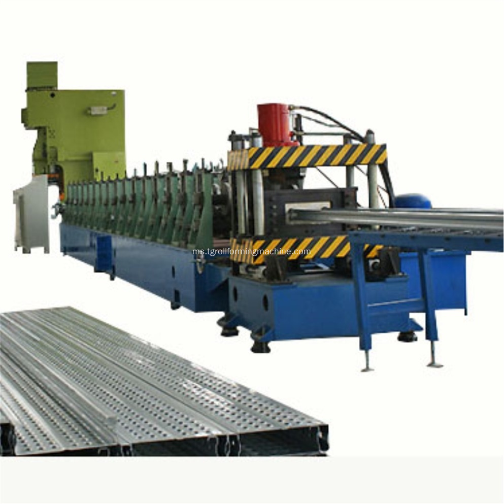 Steel Scaffolding Planks Sheet Roll Forming Machine