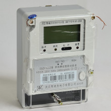 Pré-pagamento anti-roubo sem fio Medidor eletrônico inteligente