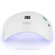 Hohe quanlity SUN8 intelligente Nagellampe 2.0 mit 48w uv führte Nagellampe für Nagelhärtung