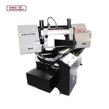 Automatic Metal Cutting CNC Band Saw Machine GB4228X Band Sawing Machine