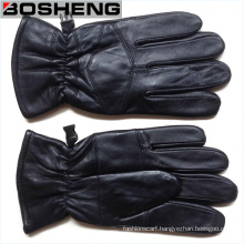Warm Winter Full Finger Leather Thin Gloves New Fashion