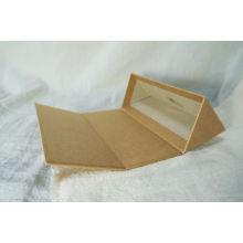 Qualitäts-nach Maß faltender Verpackungsdruck-Glanz-Papiermedizin-Kasten